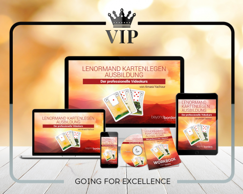 VIP Ausbildung Lenormand Kartenlegen