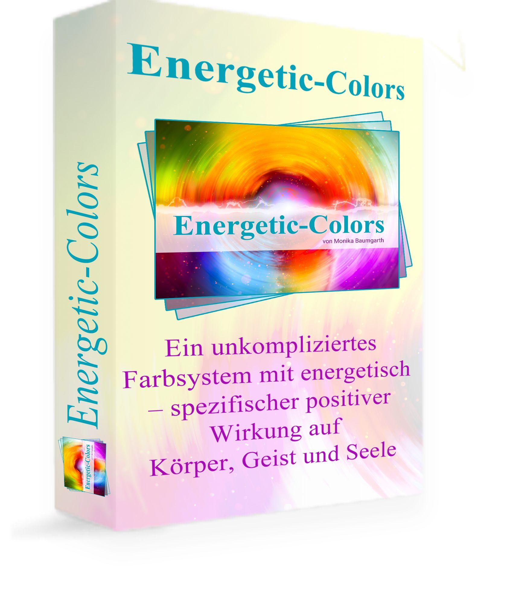 Fernstudium Energetic Colors - Farbfoliensystem zur Heilungsaktivierung