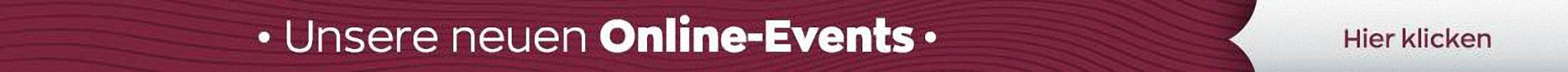 Unsere neuen Online Events